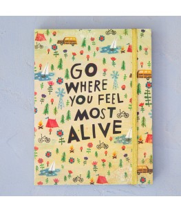 """""""GO WHERE YOU FEEL MOST..."""