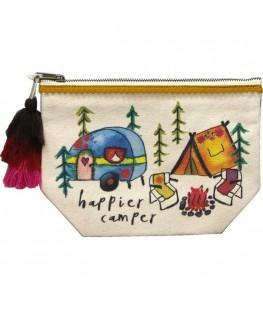"""""""HAPPIER CAMPER"""" CANVAS..."""