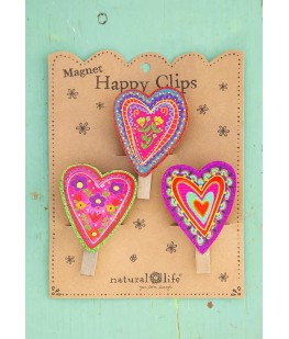 """HEARTS"" MAGNET HAPPY CLIPS..."
