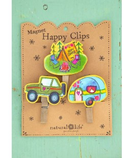 """HAPPY CAMPER"" MAGNET HAPPY..."