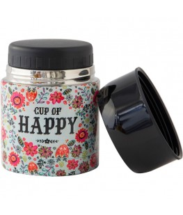 """CUP OF HAPPY"" SOUP THERMOS..."