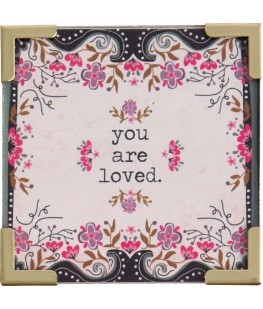 """YOU ARE LOVED"" MAGNET - UNIC"
