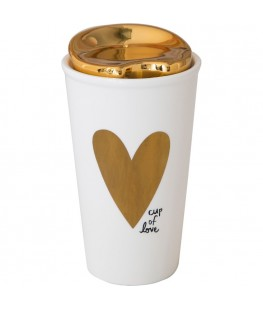 """CUP OF LOVE"" THERMAL MUG -..."