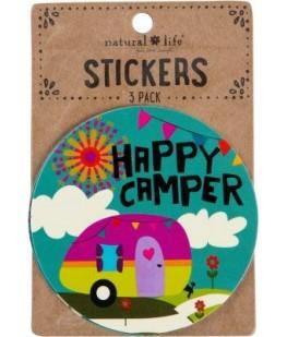 """HAPPY CAMPER"" STICKERS - UNIC"