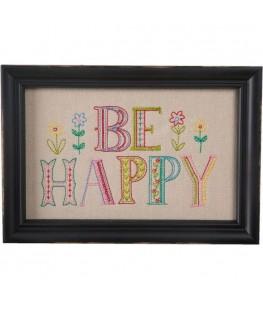 """""""BE HAPPY"""" PHOTO FRAME - UNIC"""