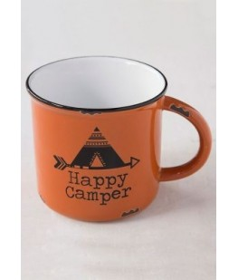 """HAPPY CAMPER"" MUG - UNC"
