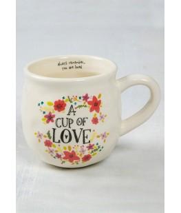 """A CUP OF LOVE"" MUG"
