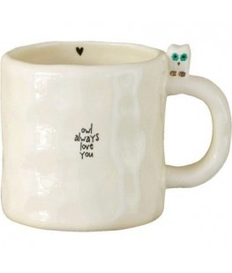 """OWL ALWAYS LOVE YOU"" MUG -..."