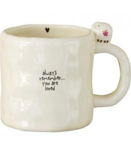 """YOU ARE LOVED"" MUG - UNIC"