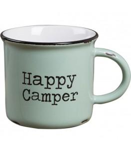 """HAPPY CAMPER"" MUG - UNIC"