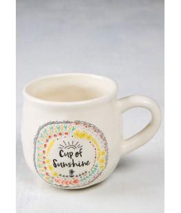 """""""CUP OF SUNSHINE"""" MUG - UNIC"""