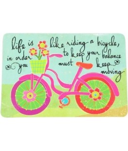 """LIFE IS LIKE RIDING A..."