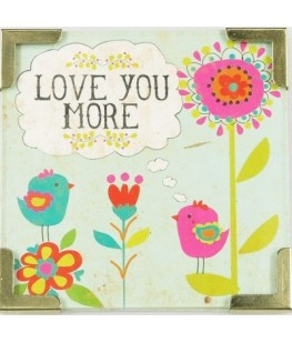 """LOVE YOU MORE"" MAGNET - UNIC"