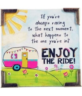 """ENJOY THE RIDE"" MAGNET - UNIC"