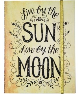 """SUN MOON"" NOTEBOOK - UNIC"