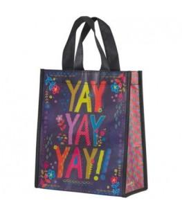 """YAY!"" RECYCLED BAG - UNIC"