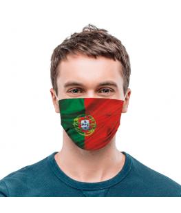 FACE MASK PORTUGAL FLAG - UNC