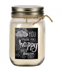 """SCENTED CANDLE """"YOU MAKE ME..."""