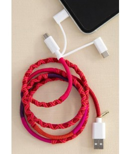 3 IN 1 CHARGING CORD - UNC